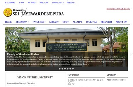University of Sri Jayawardenapura